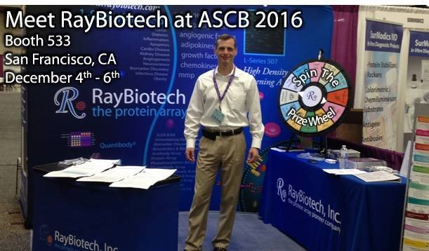 Come meet RayBiotech at ASCB in San Francisco!